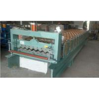 Best Industrial Steel Roof Tile Roll Forming Machine With Automatic SAJ Inverter wholesale
