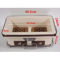 Best Household Hibachi Ceramic BBQ Grill Porcelain Enameled Outdoor Use SGS wholesale