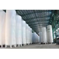 Cheap Vacuum Powder Insulated Storage Tank , LC2H4 / LH2 / LOX Storage Tank for sale