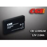 Best 12V 1.8Ah CB1220SLM  Non - Spillable charging lead acid batteries Maintenance Free wholesale