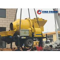 China JBS30 Electric Mobile Concrete Mixer With Pump Good Wear Resistance on sale