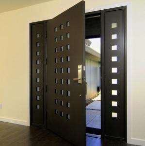 Best USA Villa Main Entry Door Modern Design Pivot Wooden Doors wholesale
