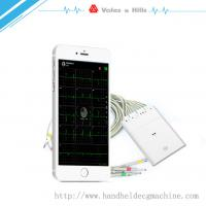 New Handheld ECG Buletooth WIFI ECG Machine For IOS Work With IPad