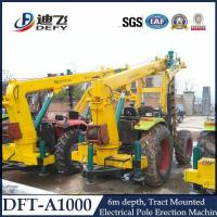 Best Telephone Pole Pile Driver Machine DFT-A1004 wholesale