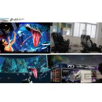Best 6 / 12 / 18 / 36 Persons 6D Movie Theater With Visual Impact, Special Effect System wholesale