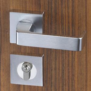 Best Easy Installation Mortise Door Lock Zinc Alloy Handle For 38 - 55mm Door wholesale