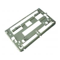 Best DVD Bracket Metal Stamped Parts Sheet Metal SECC / Galvanized Steel wholesale