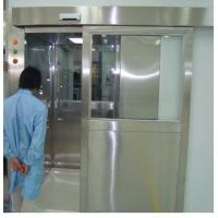 Cheap ISO 7 Energy Efficient Stainless Steel Air Shower Room With Automatic Slid Door for sale