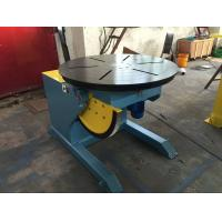 Best Motorized Rotating / Tilting Rotary Welding Turning Table For 2 Ton Rated Load Cap wholesale