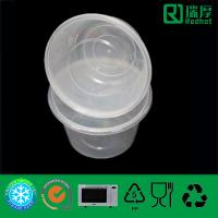 China Plastic Disposable Microwaveable Food Storage Container 450ml on sale