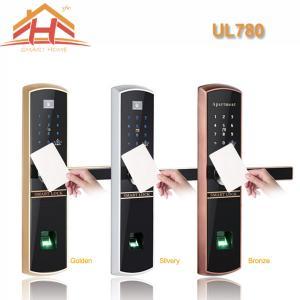 Best High Efficiency Smart Card Door Lock with Fingerprint Recognition wholesale