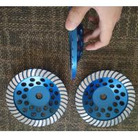 "Best 7"" Turbo Cup Wheel Diamond Grinding Disc For Concrete and Stone Grinding wholesale"