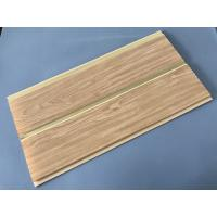 Cheap 250 × 7 MM × 5.95M PVC Wood Panels Middle Groove Shape Easy Installation for sale