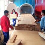 Best SAGA HF Vacuum Wood Dryer High Frequency And Vacuum Wood Drying Machine wholesale