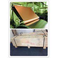 Buy cheap Electrolytic copper foil of 100 µ with Width of the foil 300 mm for  using in conductive foil solutions from wholesalers