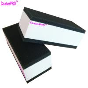 Cheap ceramic glass Coating sponge nano glass coat applicator pad car polishing sponge auto detail sponge coating agent sponge for sale