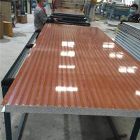 China 60kg fireproof 50mm modified eps sandwich panel 1150-50-0.426mm for wall on sale