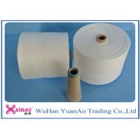 Cheap Raw White Virgin 100 Polyester Yarn Z Twist Good Evenness for Sewing for sale