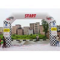 Best Outdoor Custom Inflatable Arch PLD - SA With Lighting System / Banners wholesale