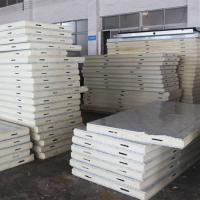 China HeCheng Insulation PU Sandwich Panel for Structure House on sale