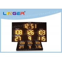 Best IP65 Level Digital Cricket Scoreboard , Multi Sport Scoreboard 7 Segment Display wholesale