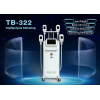 Cheap 4 Handles Cryolipolysis Fat Freezing Machine For Body Face Weight Loss Machine for sale
