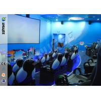Best Fashion Design 5D Movie Theater With Pneumatic /  Electric Motiom System wholesale