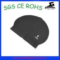 Best Professional factory custom high elastic latex swim caps wholesale
