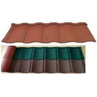 China Stone Coated Metal Roof Tile steel roofing shingle on sale