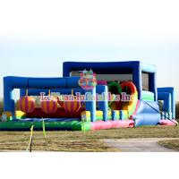 Best Colorful Inflatable Obstacle Course Races Arrival Fun City Fantastic Game wholesale