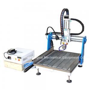 Best Gantry Moving Desktop Aluminum CNC Router Machine with DSP A11E Offline Control wholesale
