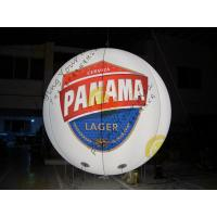 Best Customized Inflatable Advertising Balloon , LED Light Inflatable HeliumBalloon wholesale