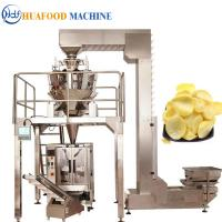 Best Potato Chips 3 Kw Automatic Food Packing Machine 1800*1250*1780mm wholesale