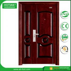 Best china supplier cheap steel security door/ outside front door/ residential security door wholesale