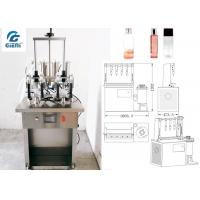 Best Water Based Material Toner Filling Machine For Glass Container wholesale