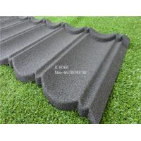 Best Fireproof Stone Chips Coated Step Metal Roof Tile , Aluminium Zinc Roofing Tile Color Roof wholesale