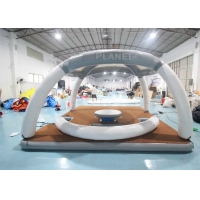 Best DWF 20cm Thickness Inflatable Floating Platforms Dock Inflatable Water Floating Island Inflatable Aqua Banas wholesale