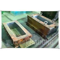 Best Permanent Casting Machine Parts , 200kg Strip Graphite Casting Mold wholesale