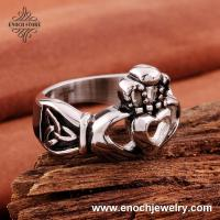 Best Unique Heart Around Hands High Quality Stainless Steel Birthday Gifts For Men wholesale