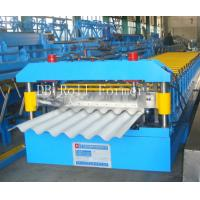 Corrugated Roof Panel Corrugated Roll Forming Machine with 1200mm Feeding width for Simple House