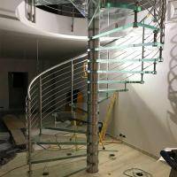 Cheap Modern Outdoor Steel Staircase Design Galvanized Spiral Staircase for sale