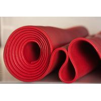 Best Red Solid Platinum Cured Silicone Sheet Textured Finish For Food Processing Industries wholesale