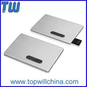 Promotion Slip Credit Card USB 2.0 Flash Drive High Printing Quality Best Service