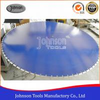 Best 1500mm Diamond Floor Saw Blades Inner Hole 60mm / 25.4mm SGS Certification wholesale