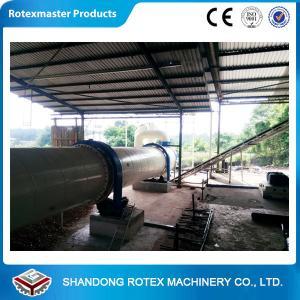 Best High Capacity Rotary Drum Dryer / Wood Sawdust Dryer GHG 1.8 * 24 wholesale