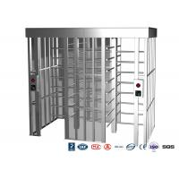 Cheap Double Passage Controlled Access Turnstile Rapid Identification For Stadium With CE Approved for sale