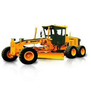 China Shantui Mini Tractor Road Grader 12 Ton 140HP Hydraulic Gear Pump 140HP SG14 on sale