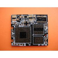 Best 0.35mm FR4 Double Sided Gold Finger PCB Bard with ISO / UL for industrial control wholesale