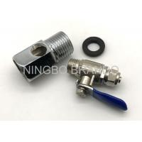 Best Zinc Alloy Ball Valve And 3 Way Adapter for Reverse Osmosis Parts Water Purifier wholesale
