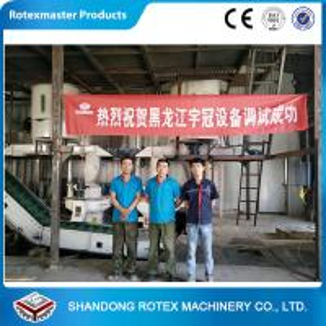 Best Three Phase Pine Wood Pellet Production Line , Customized Capacity wholesale